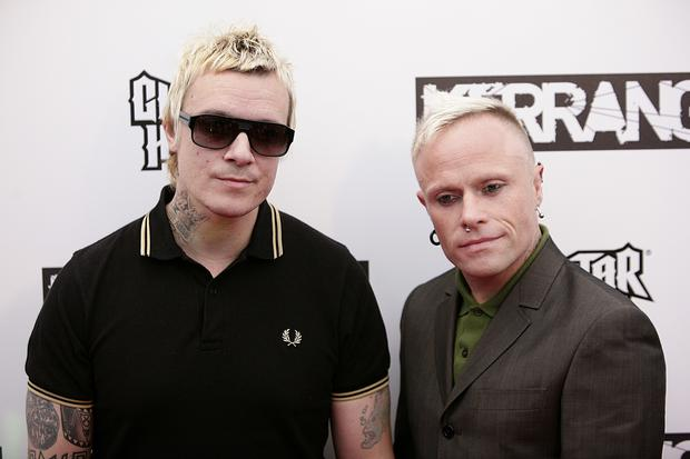Liam Howlett and Keith Flint (right) of The Prodigy in 2009 (Yui Mok/PA)