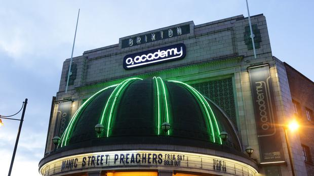 The O2 Academy Brixton music venue in London (Yui Mok/PA)