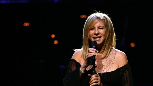 Barbra Streisand on stage (PA)