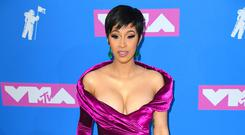 Cardi B has trademarked her catchphrase 'Okurrr' (PA/PA Wire)