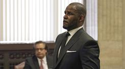 R. Kelly (E. Jason Wambsgans/Chicago Tribune via AP, Pool)