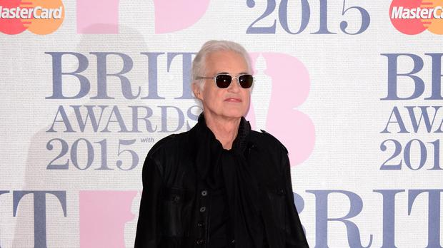 Jimmy Page has been involved in a dispute with neighbour Robbie Williams for five years (Dominic Lipinski/PA)