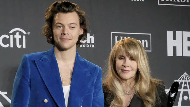 Stevie Nicks performed with Harry Styles at the Hall of Fame ceremony (Charles Sykes/Invision/AP)