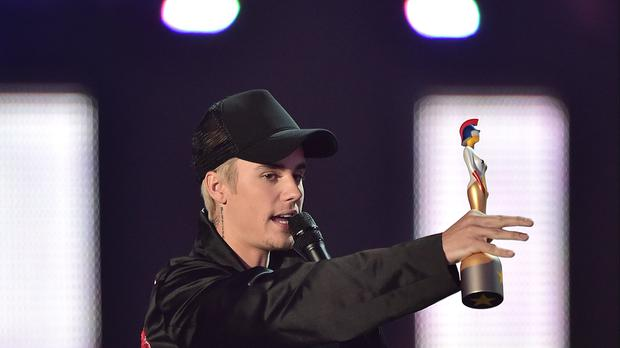 Justin Bieber has apologised for an 'insensitive' April Fools' Day joke (Dominic Lipinski/PA)