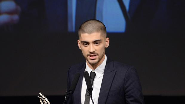 Zayn Malik called his on-off girlfriend Gigi Hadid 'the most amazing woman I've ever known' (Doug Peters/PA)