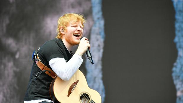 Ed Sheeran will break from his worldwide Divide Tour for the show on July 14 (PA)