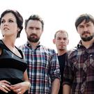 Dolores O'Riordan, Noel Hogan, Fergal Lawlor and Mike Hogan