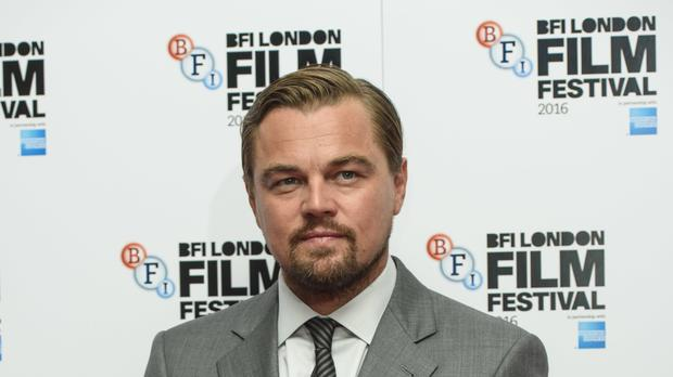 Leonardo DiCaprio is among the artists to star in a music video intended to raise awareness of climate change (Matt Crossick/PA)