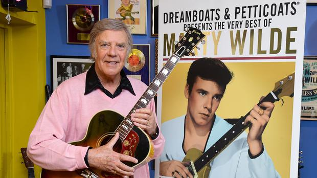 Marty Wilde has found late career success with an album of his greatest hits (Ian West/PA)