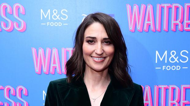 Sara Bareilles: I realised I only worked with men for a really long time (Ian West/PA)