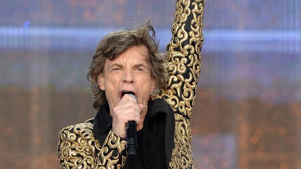 'Jagger (75) later told fans he was