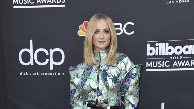 Sophie Turner was among the stars pictured arriving at the 2019 Billboard Music Awards (Richard Shotwell/Invision/AP)