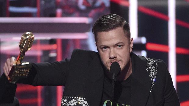 Rock band Imagine Dragons called for a ban on conversion therapy as they highlighted LGBTQ issues at the Billboard Music Awards (Chris Pizzello/Invision/AP)