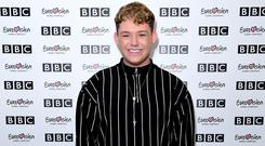 Michael Rice credits his mother with his success in the music industry (Ian West/PA)