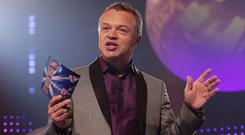 Graham Norton will be commentating as the results of Eurovision 2019 come in (Yui Mok/PA)