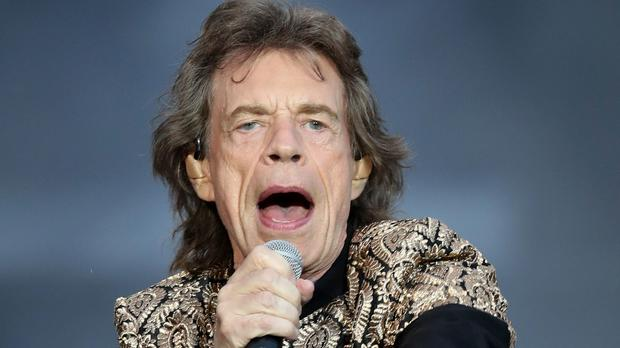 Sir Mick Jagger appears to be back to full health (Jane Barlow/PA)