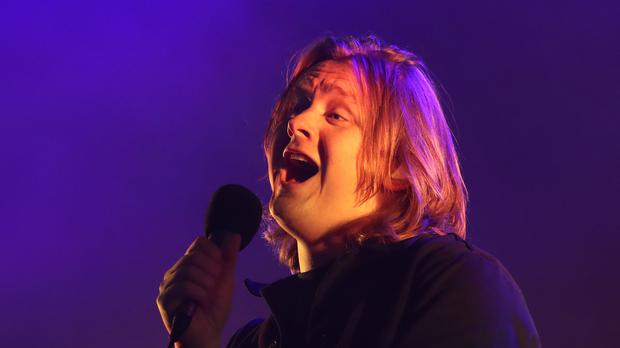 Lewis Capaldi is in line to top the charts with the fastest-selling debut album of 2019 (Andrew Milligan/PA)