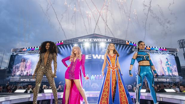 Fans have complained of sound issues for the second time on the Spice Girls' reunion tour (Dawbell/Andrew Timms/PA)