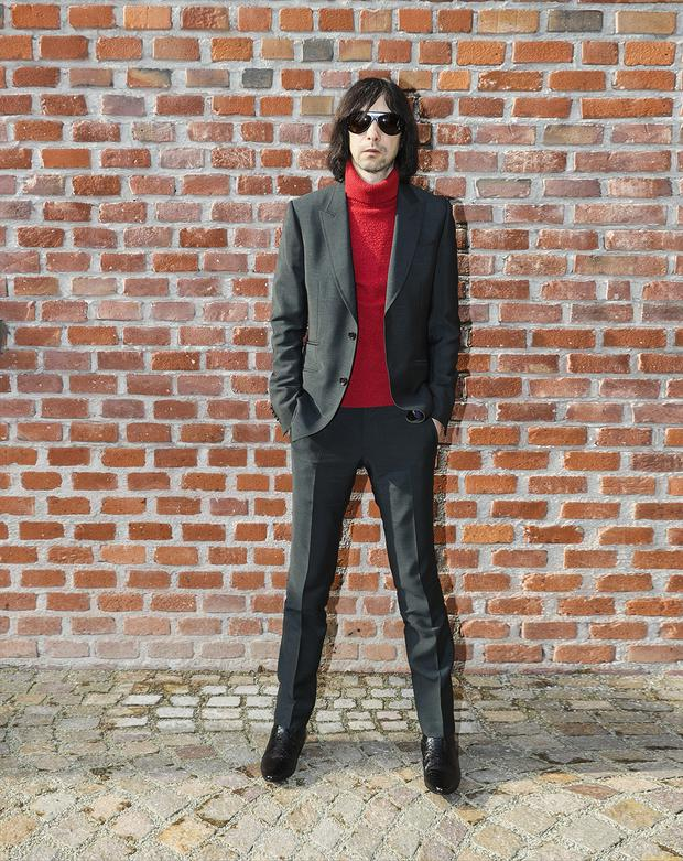 Hair-raising: Bobby Gillespie insists he was never a junkie, saying he preferred amphetamines and cocaine to heroin
