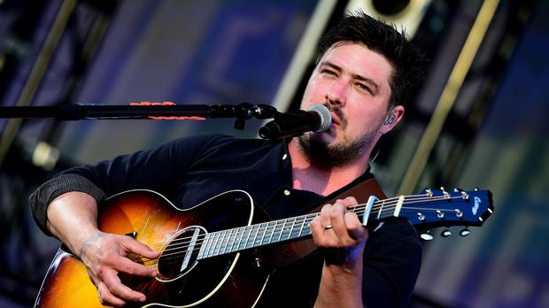 Mumford and Sons play Malahide Castle tonight and tomorrow night (Ian West/PA)
