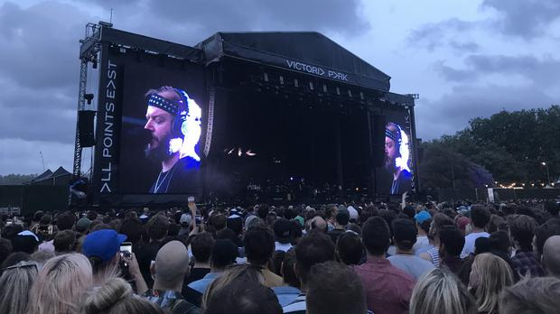 Bon Iver at All Points East in London (Alex Green/PA)