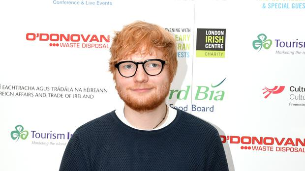 Ed Sheeran will receive the O2 Silver Clef Award at the ceremony (Victoria Jones/PA)