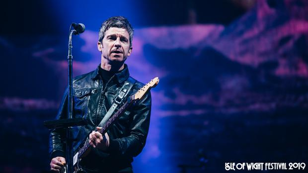 Noel Gallagher performs as the Isle of Wight Festival (Handout/PA)