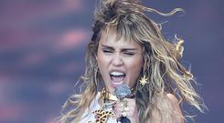 Miley Cyrus (Aaron Chown/PA)