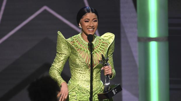 Cardi B has failed in her bid to copyright the catchphrase 'okurrr' after the US Patent And Trademark Office ruled the term was already widely used (Chris Pizzello/Invision/AP)