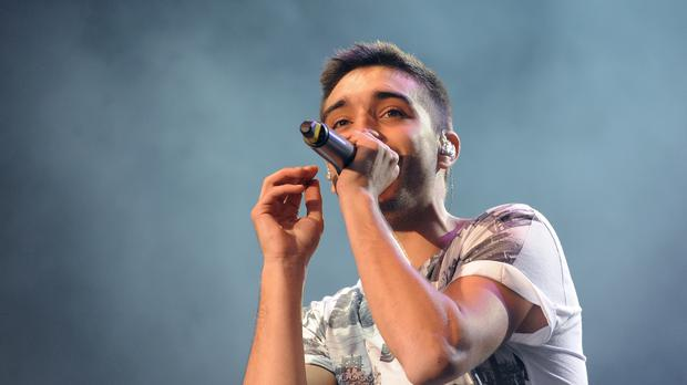 Tom Parker of The Wanted (Joe Giddens/PA)