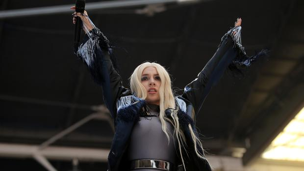 Ava Max hit the charts with Sweet But Psycho (Isabel Infantes/PA)