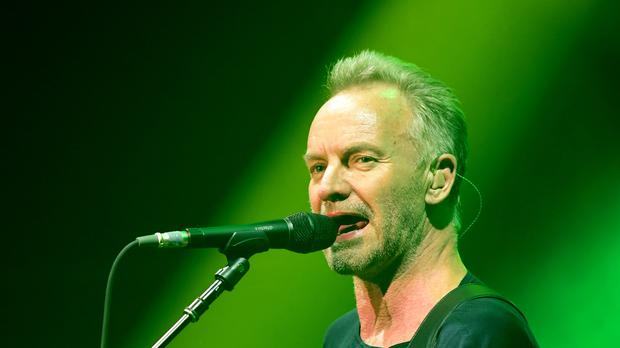 Sting has cancelled two European concerts due to an unspecified illness (Ian West/PA)