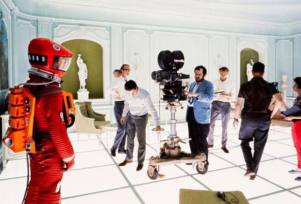 Masterpiece: Stanley Kubrick on the set of 2001: A Space Odyssey