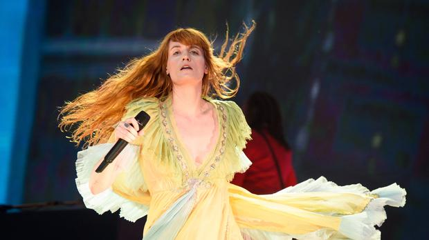 Florence Welch (Matt Crossick/PA)
