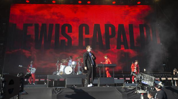 Lewis Capaldi wowed the Glasgow crowd on Sunday night (Lesley Martin/PA)