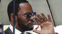 R Kelly is being held in a Chicago jail (Amr Alfiky/AP)