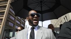 R Kelly is being held in a Chicago jail without bail (Amr Alfiky/AP)
