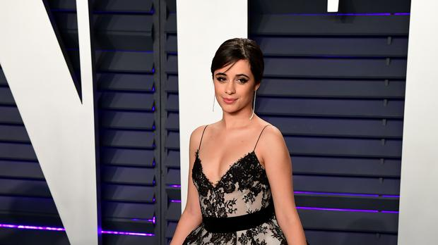 Camila Cabello attending the Vanity Fair Oscar Party (Ian West/PA)