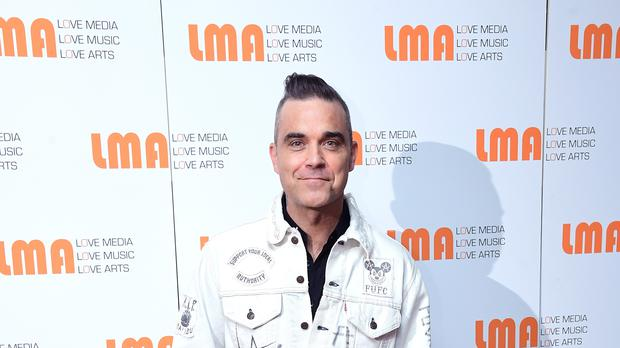 Robbie Williams recently performed at British Summer Time in London's Hyde Park (Ian West/PA)
