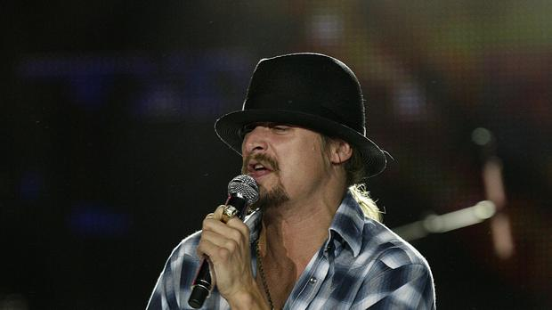 Kid Rock made lewd comments about Taylor Swift as he accused her of supporting the Democrats in order to crack Hollywood (Yui Mok/PA)
