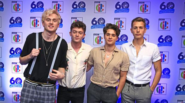 The Vamps were stranded in the airport (Peter Byrne/PA)