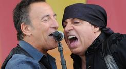 The Boss: Bruce Springsteen and Steven have been working together since 1975