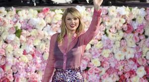 Taylor Swift launches her new album Lover on US TV programme Good Morning America (Evan Agostini/AP)