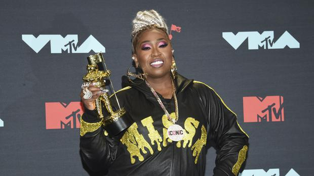 An emotional Missy Elliott was honoured with a lifetime achievement award at the MTV Video Music Awards (Evan Agostini/Invision/AP)