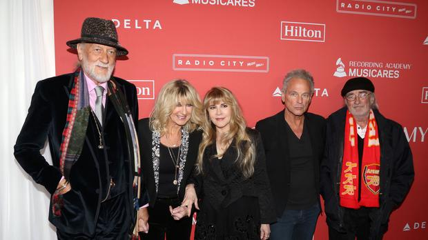 Fleetwood Mac could headline the Glastonbury Festival for its 50th anniversary (Greg Allen/PA)