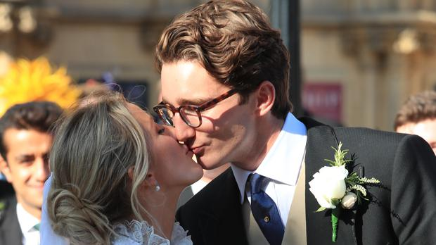 Ellie Goulding 'overwhelmed with gratitude' after marrying