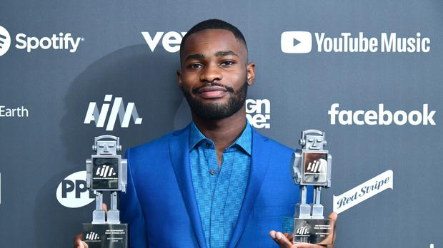 South London rapper Dave has scooped the two biggest prizes of the night at the AIM Independent Music Awards (Ian West/PA)