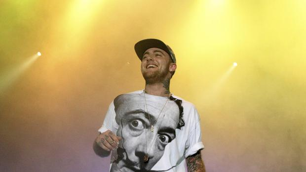 A man has been charged with supplying drugs to Mac Miller two days before the rapper died of an overdose, authorities have said. (Owen Sweeney/Invision/AP, File)