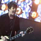Billie Joe Armstrong of Green Day during the European MTV Europe Music Awards (Ian West/PA)
