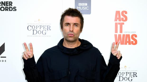 Liam Gallagher is embroiled in a row with the rock band Kaiser Chiefs (Ian West/PA)